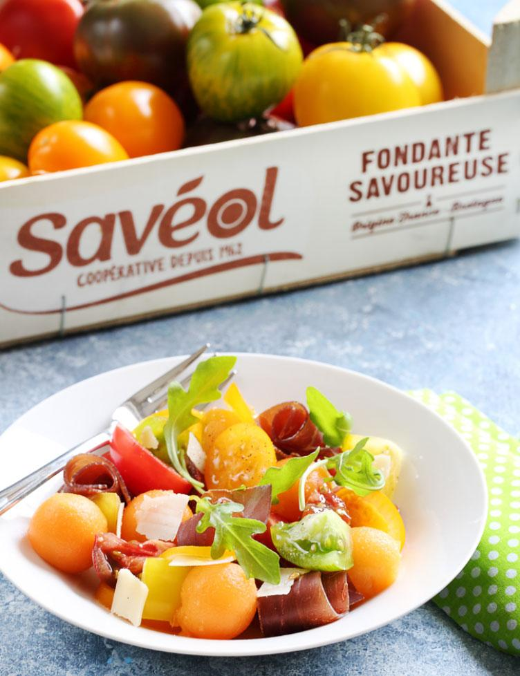 salade tomates anciennes