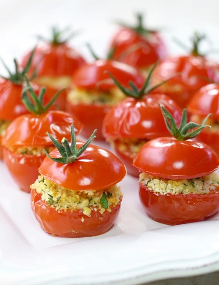 Tomates cocktail farcies